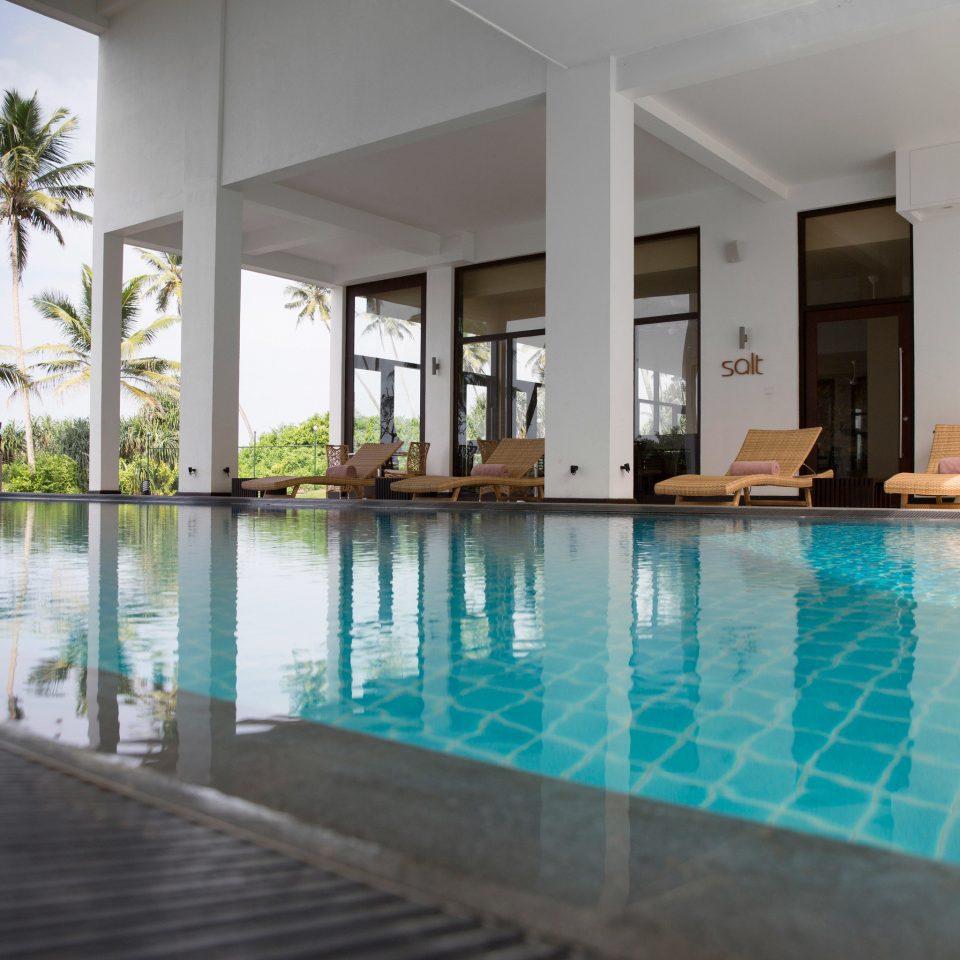 swimming pool property building condominium leisure Resort Pool Villa reflecting pool mansion swimming