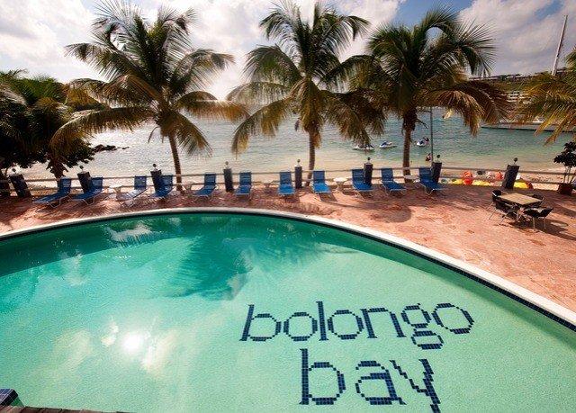leisure swimming pool property Resort palm caribbean Pool Villa tree plant