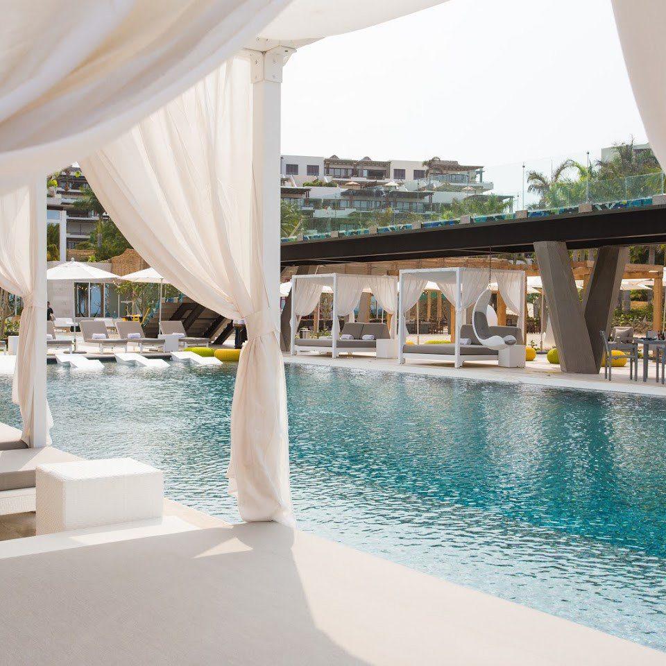 leisure swimming pool property chair Resort white Villa condominium Pool swimming