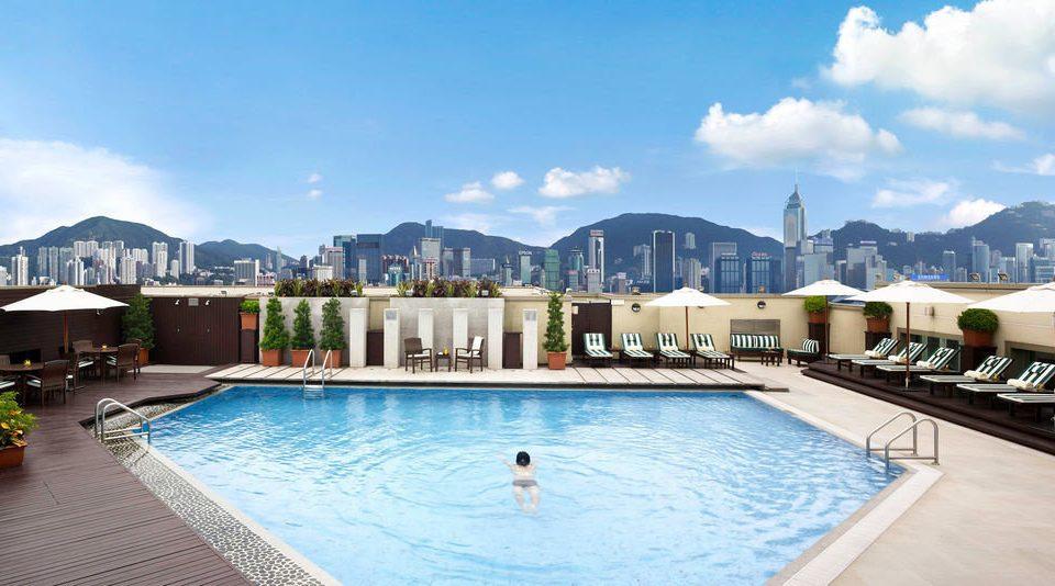 sky swimming pool leisure property Resort condominium resort town Villa Pool mansion palace swimming