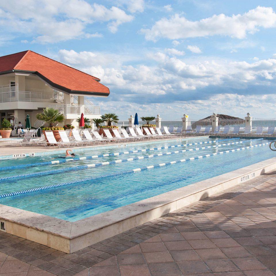 sky ground swimming pool leisure property Resort walkway Pool Villa