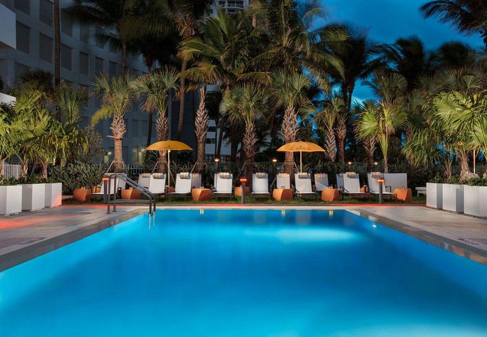 tree Pool swimming pool Resort leisure property Villa resort town mansion swimming