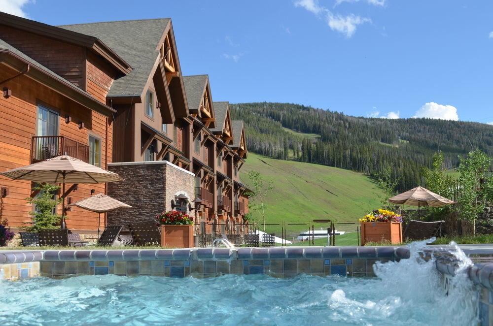 building sky house property swimming pool Resort Village Villa Pool