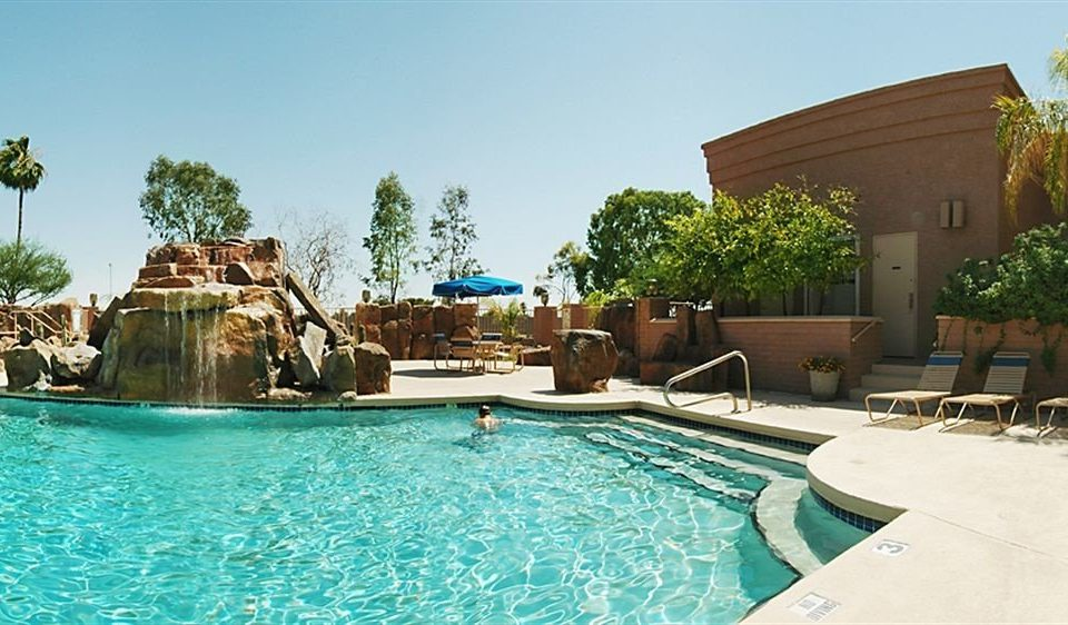 sky swimming pool leisure property Resort Villa home backyard blue Water park condominium Pool swimming