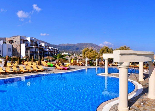 sky swimming pool property leisure Resort Pool blue condominium resort town Villa marina Water park swimming