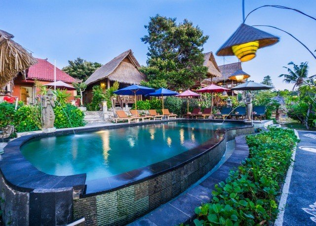 sky water swimming pool Resort property leisure Pool resort town Villa eco hotel colorful backyard Water park colored