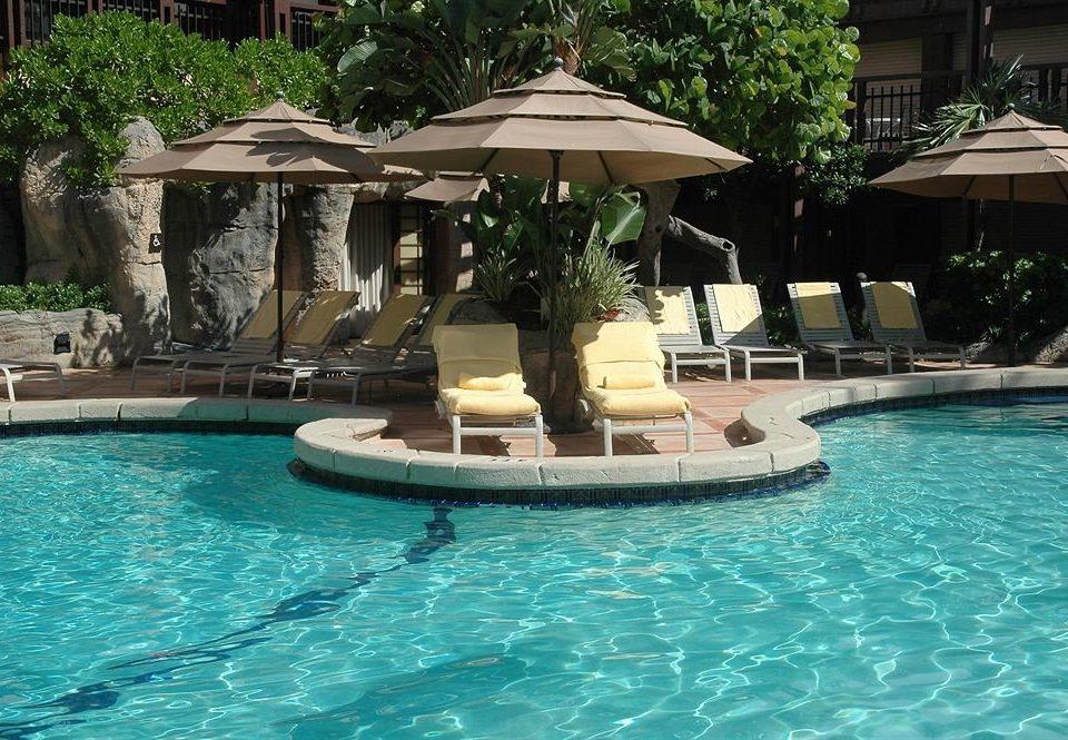 Pool Resort Waterfront water swimming pool property swimming resort town blue Villa mammal backyard mansion