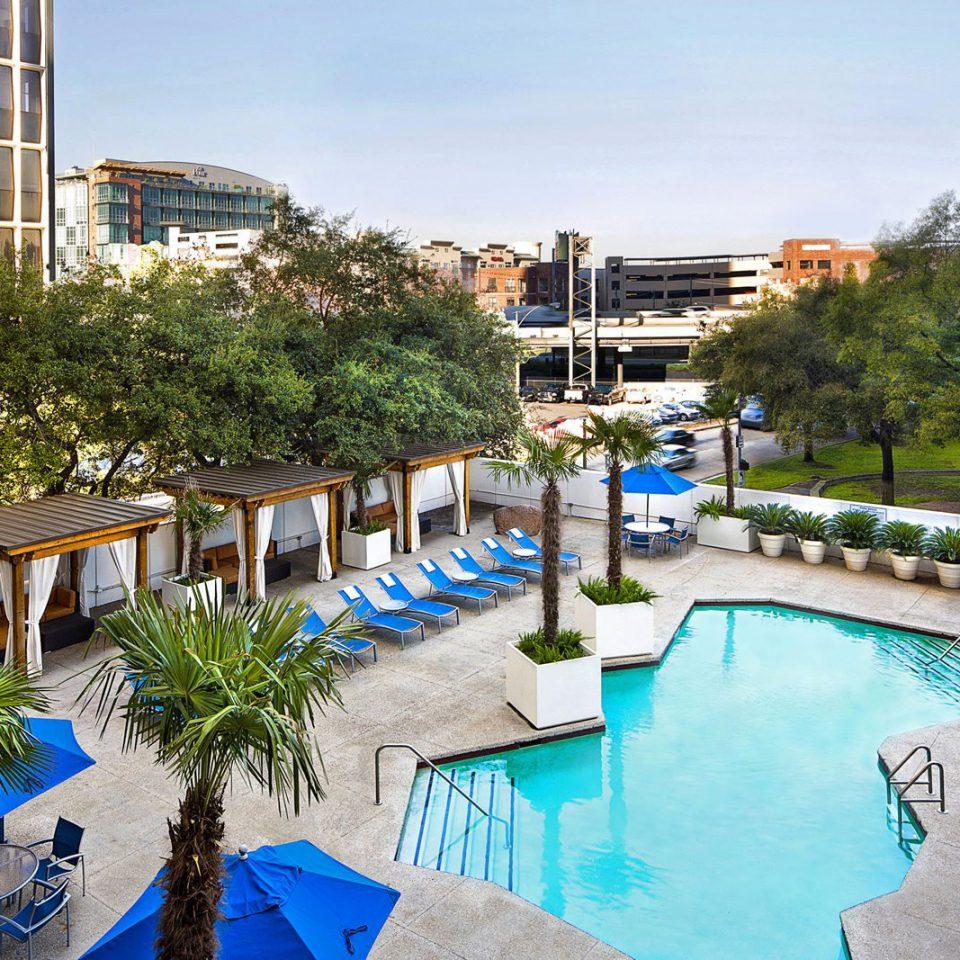 tree leisure property Resort building swimming pool neighbourhood plaza condominium Pool Village marina