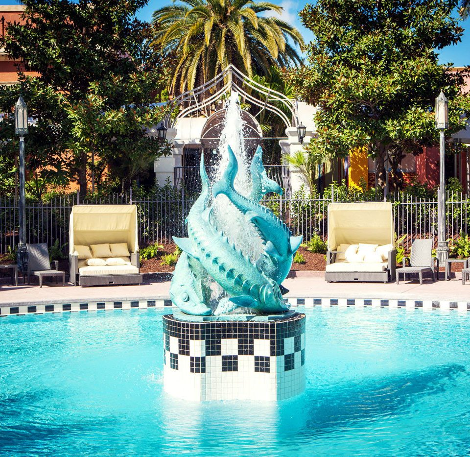 tree leisure Pool swimming pool Resort amusement park fountain Water park plaza park swimming water feature palace