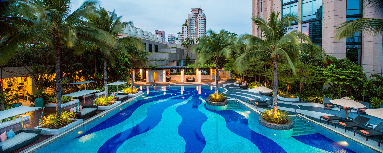 Pool tree leisure swimming pool Resort Water park amusement park building condominium resort town park