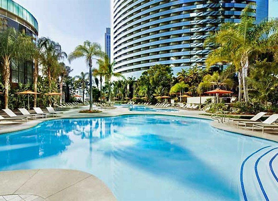 Resort Pool swimming pool condominium property leisure building reflecting pool resort town Water park swimming
