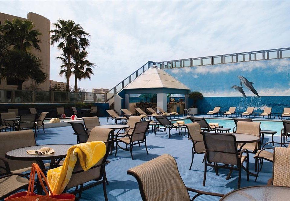 Pool Waterfront chair leisure restaurant Resort home