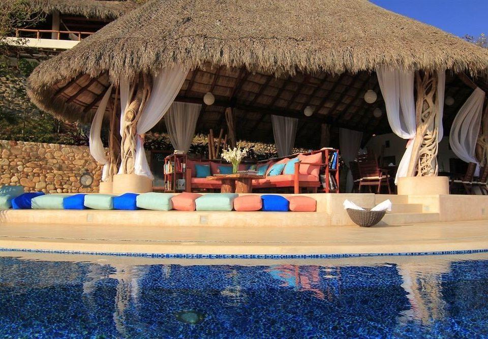 Pool Resort Waterfront roof