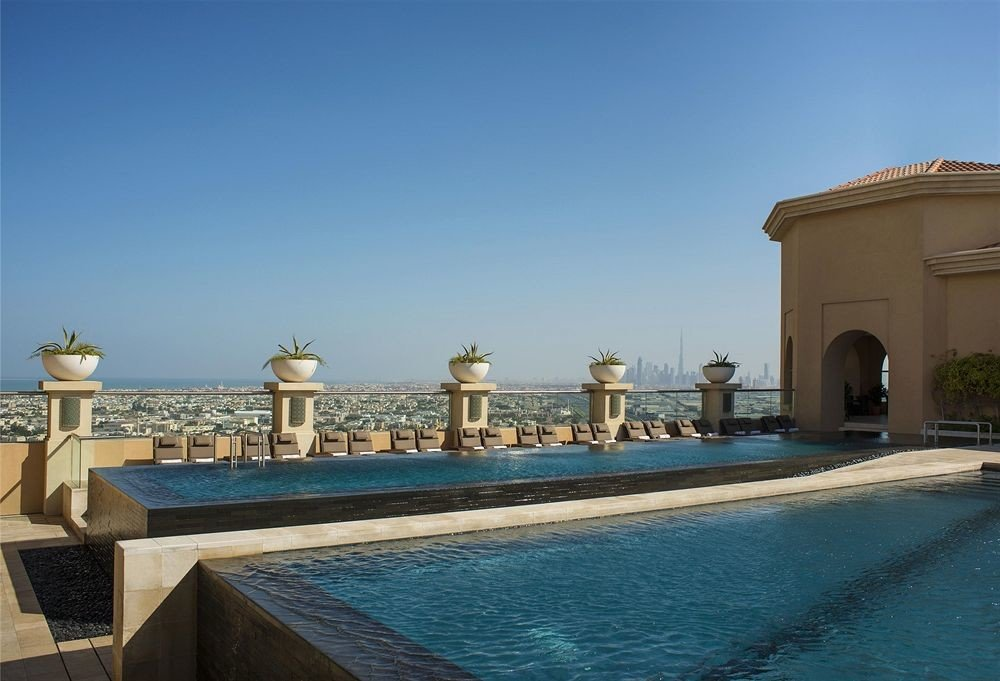 sky landmark building palace swimming pool plaza Sea Pool Villa