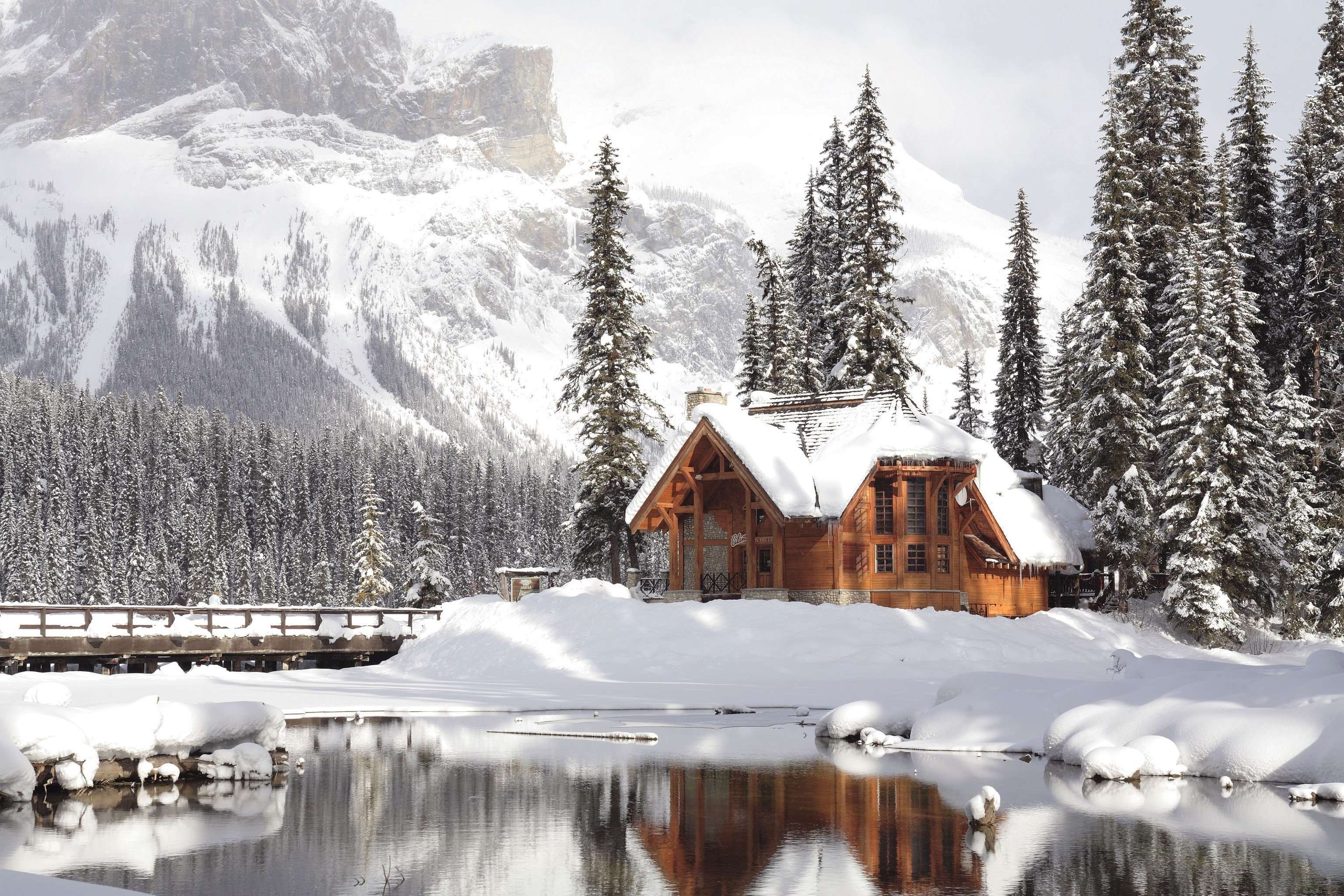 Coziest Winter Cabins