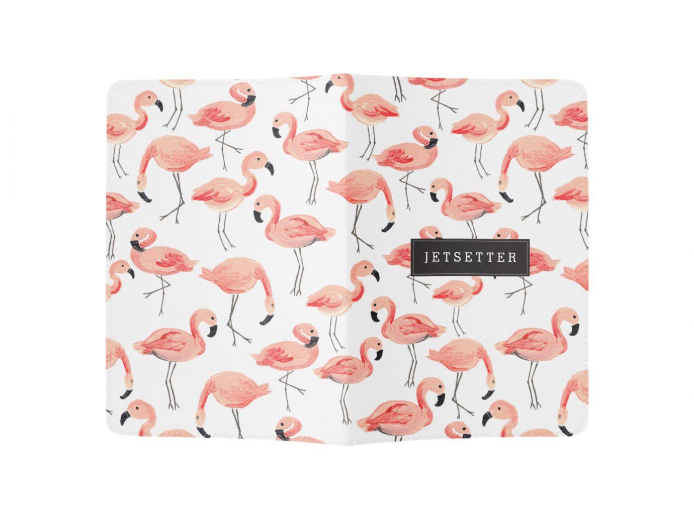Style + Design pink bag petal rectangle pattern heart textile