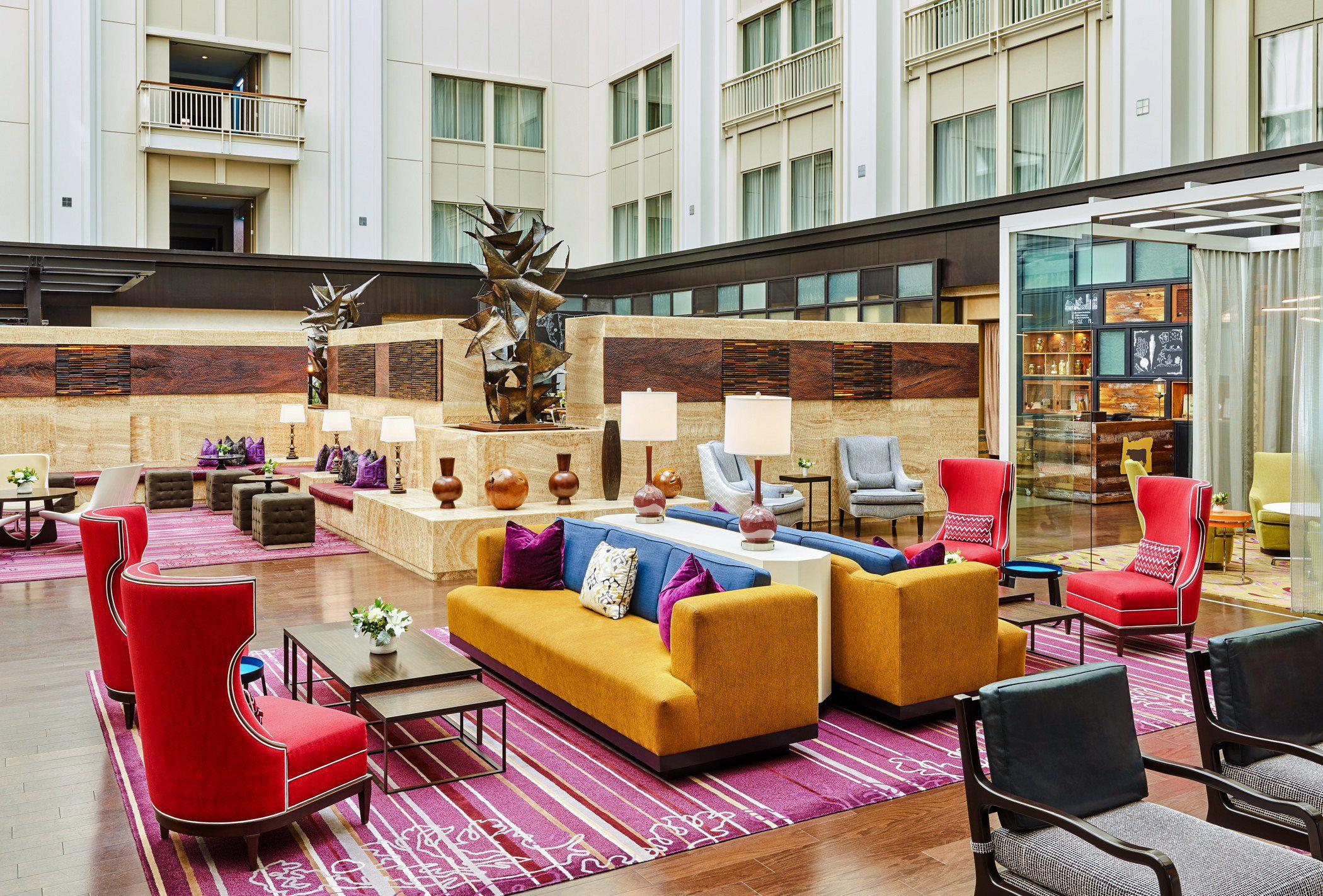 Boutique Hotels Food + Drink Hotels Luxury Travel Style + Design Trip Ideas Weekend Getaways building living room interior design furniture Lobby loft
