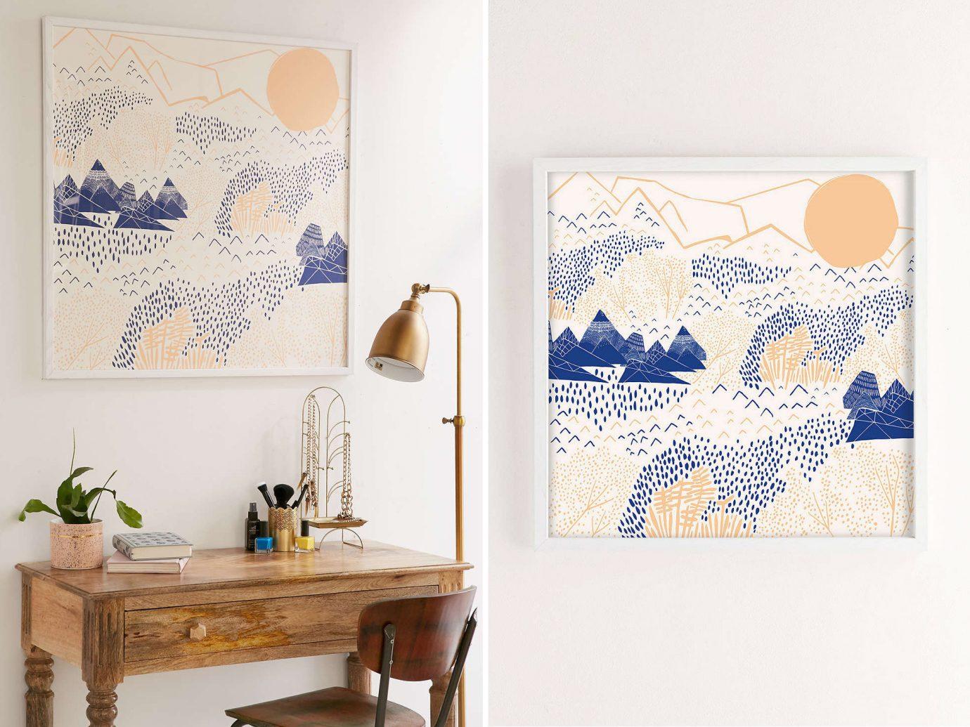 Style + Design wall modern art art Design interior design drawing illustration sketch picture frame