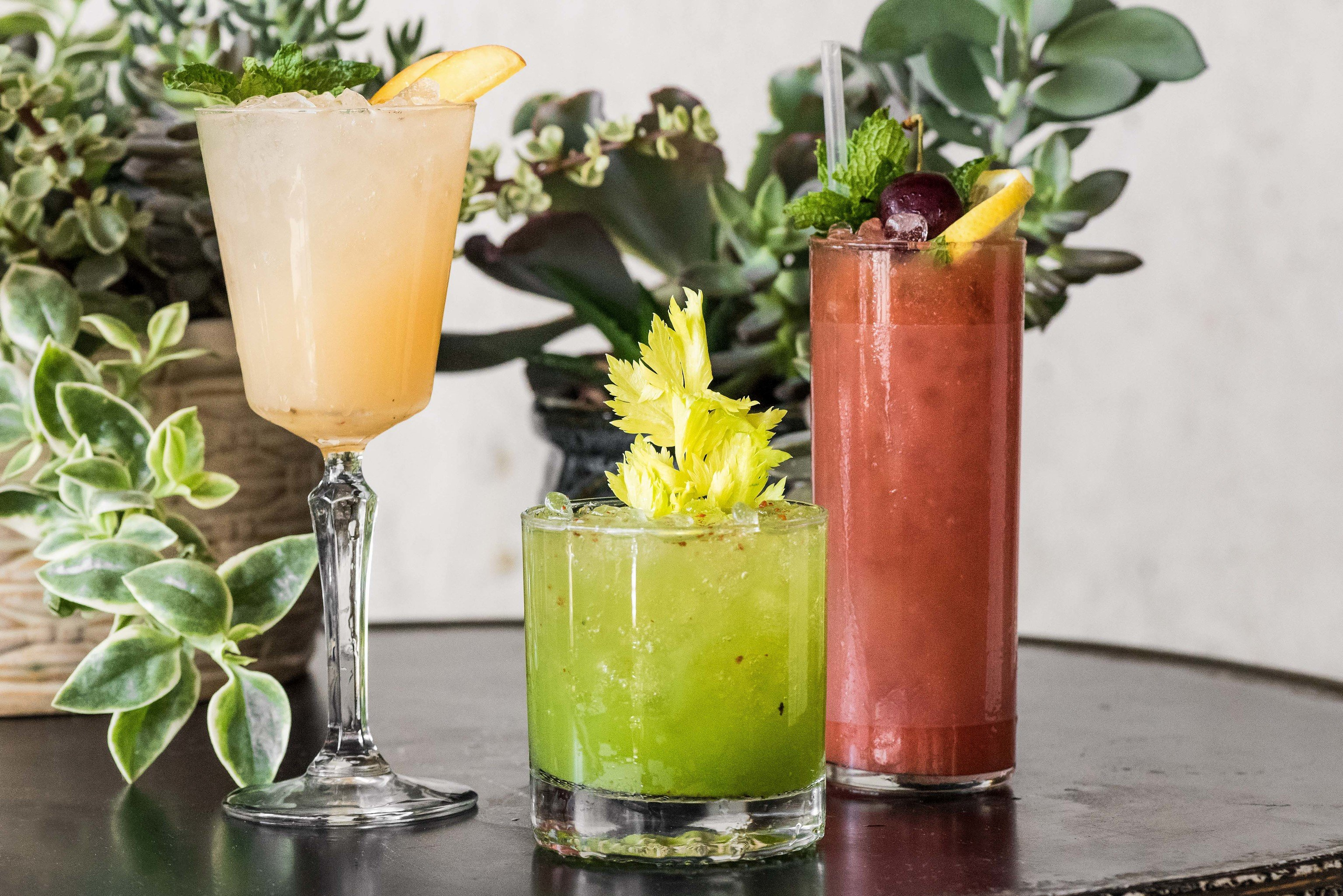 Arts + Culture Food + Drink Hotels Weekend Getaways Drink cup food cocktail cocktail garnish non alcoholic beverage mai tai glass juice mint julep plant beverage fruit drink