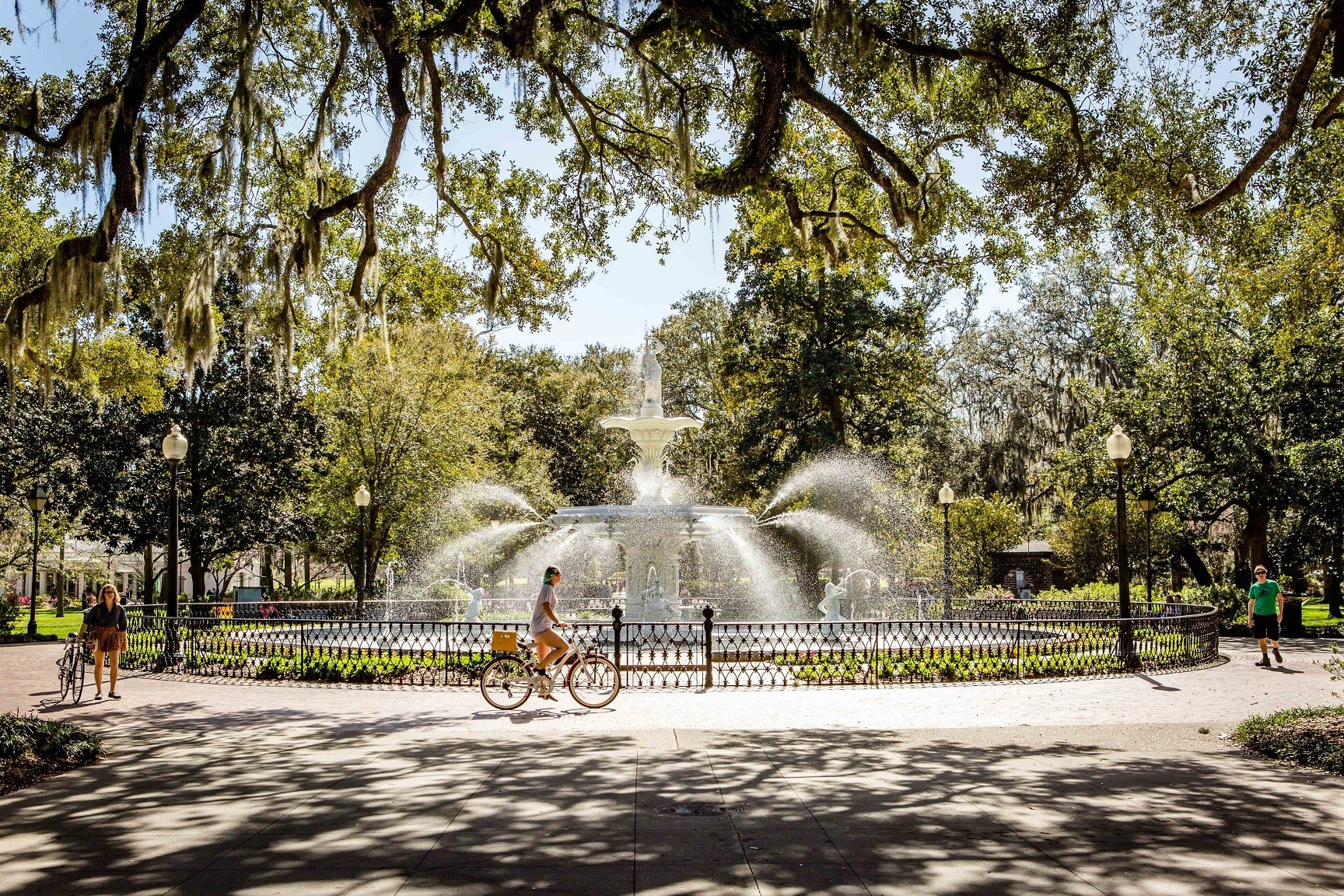 Hotels Trip Ideas Weekend Getaways tree outdoor plant plaza estate park town square Garden water feature