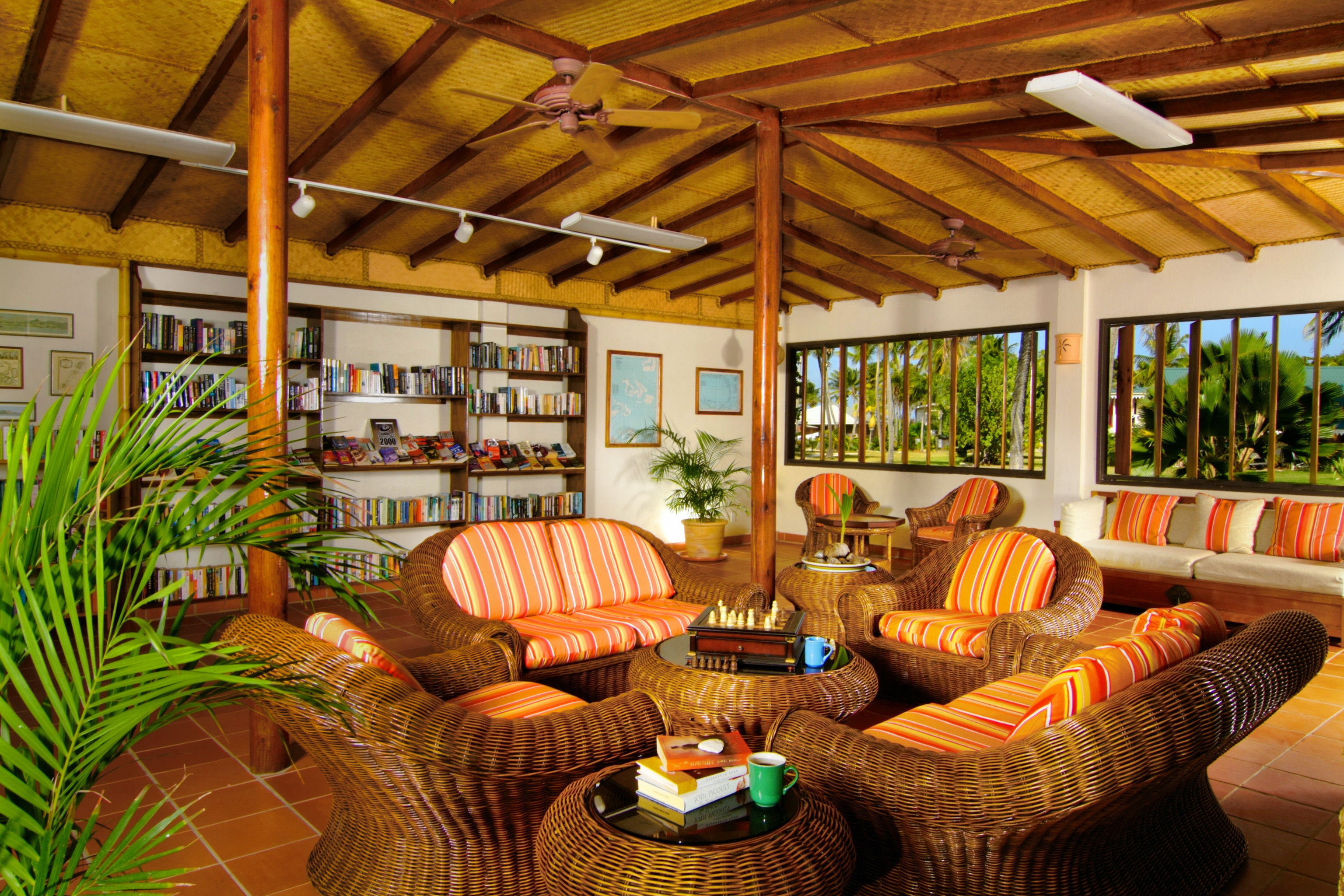 Entertainment Hotels Lounge Resort indoor ceiling property room estate porch home living room cottage real estate log cabin outdoor structure interior design backyard eco hotel farmhouse Villa furniture