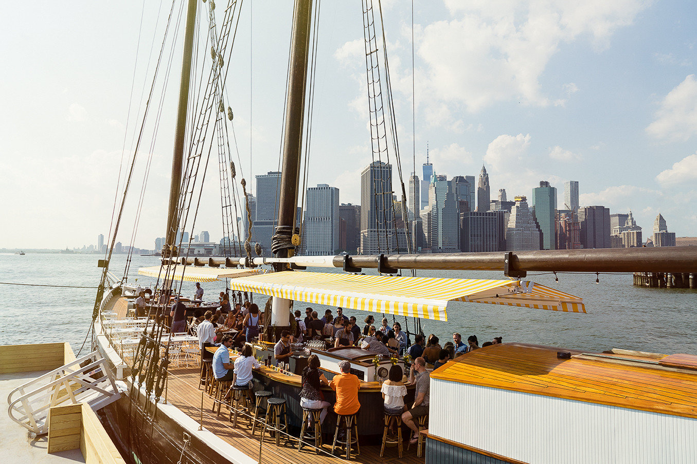 Floating Bar and Restaurant in Brooklyn, NY - Pilot