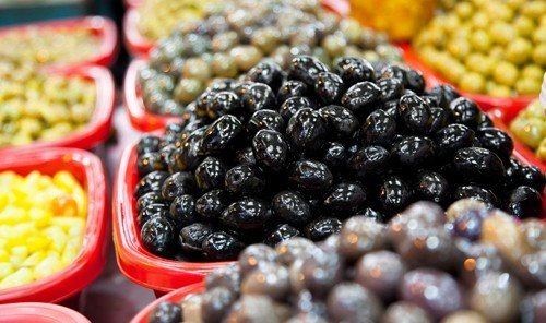 Food + Drink food fruit plant produce frutti di bosco berry land plant blackberry meal different vegetable close several arranged