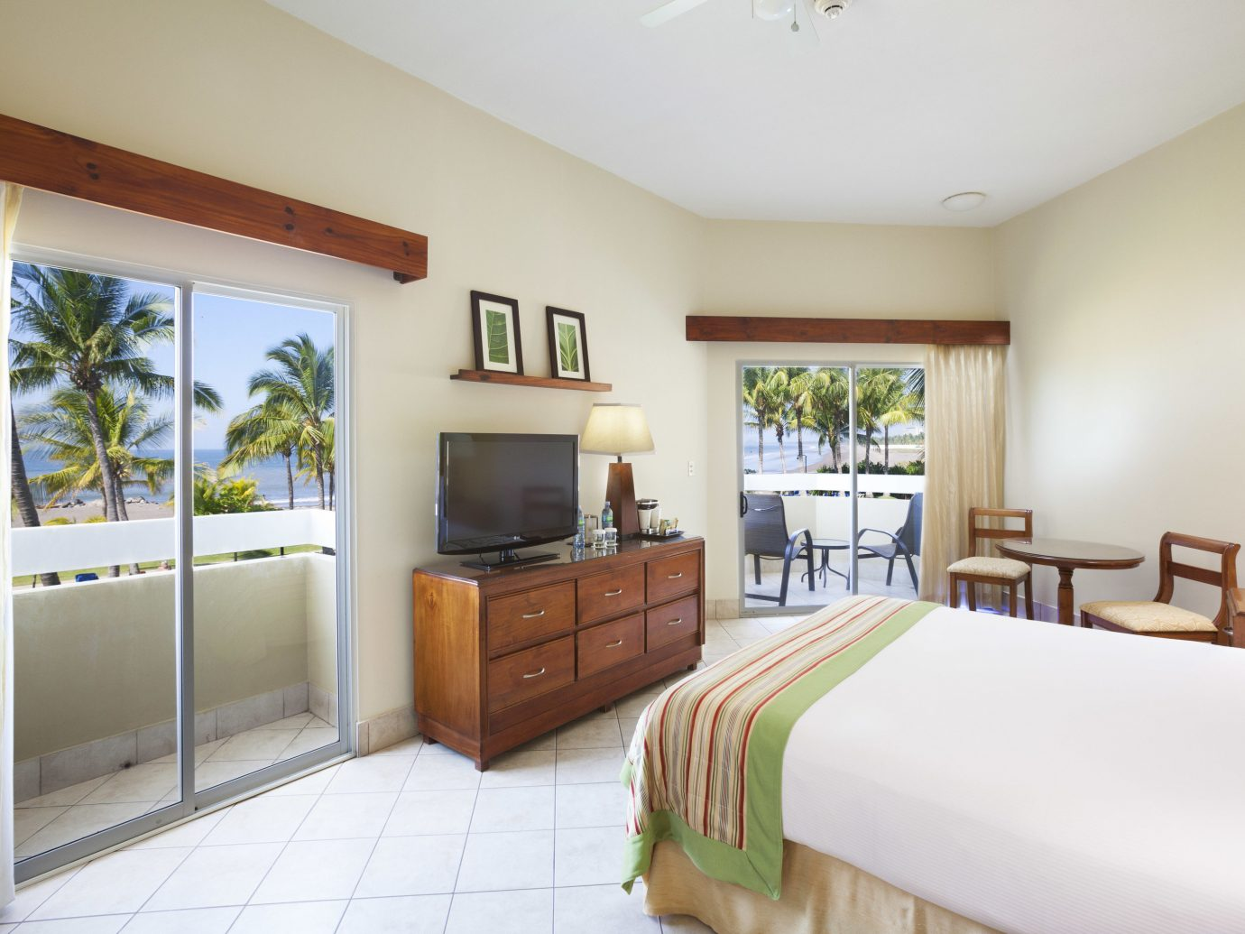 A guest bedroom at Fiesta Resort All Inclusive Costa Rica