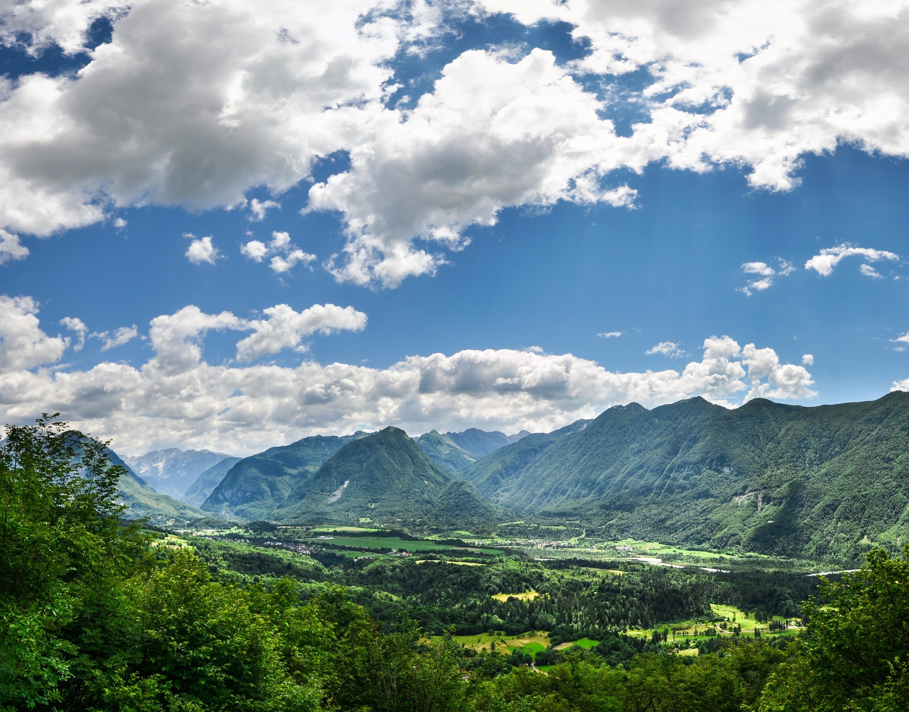 Trip Ideas sky mountain outdoor highland mountainous landforms Nature cloud geographical feature landform mountain range atmospheric phenomenon tree hill clouds valley landscape Forest background rural area meadow alps plateau lush day hillside surrounded