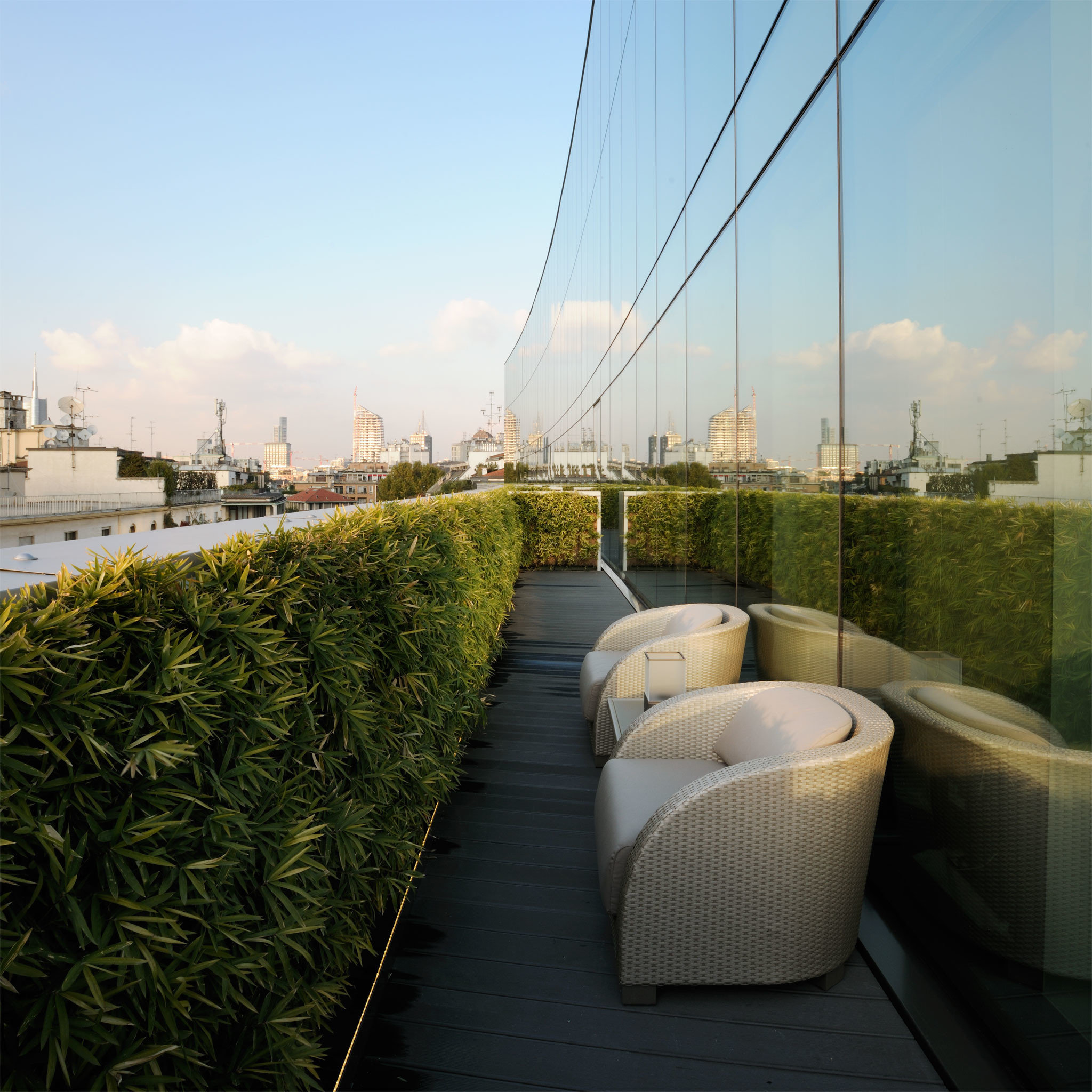 Hotels Luxury Modern Scenic views sky outdoor grass Architecture outdoor structure flower sunlight overlooking