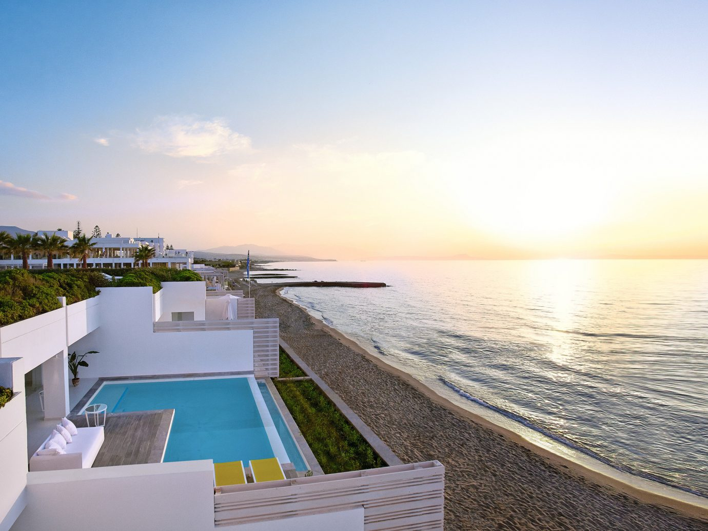 All-Inclusive Resorts Hotels sky outdoor water Sea property horizon real estate Resort Ocean vacation swimming pool leisure condominium estate house apartment Villa shore