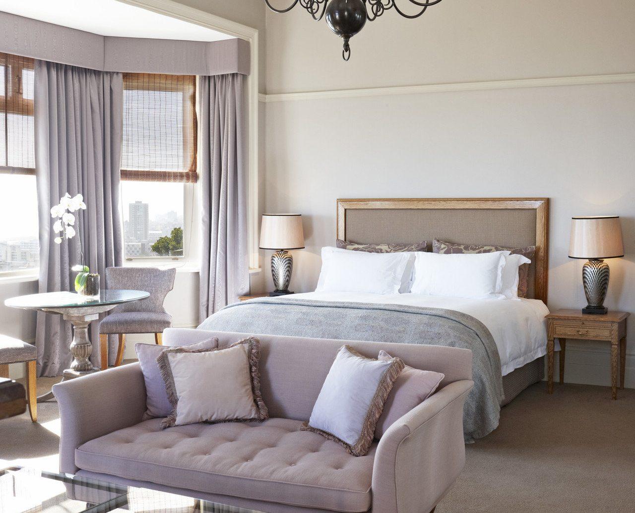 Hotels indoor wall floor room white living room bed window property home furniture interior design Bedroom real estate estate Design cottage