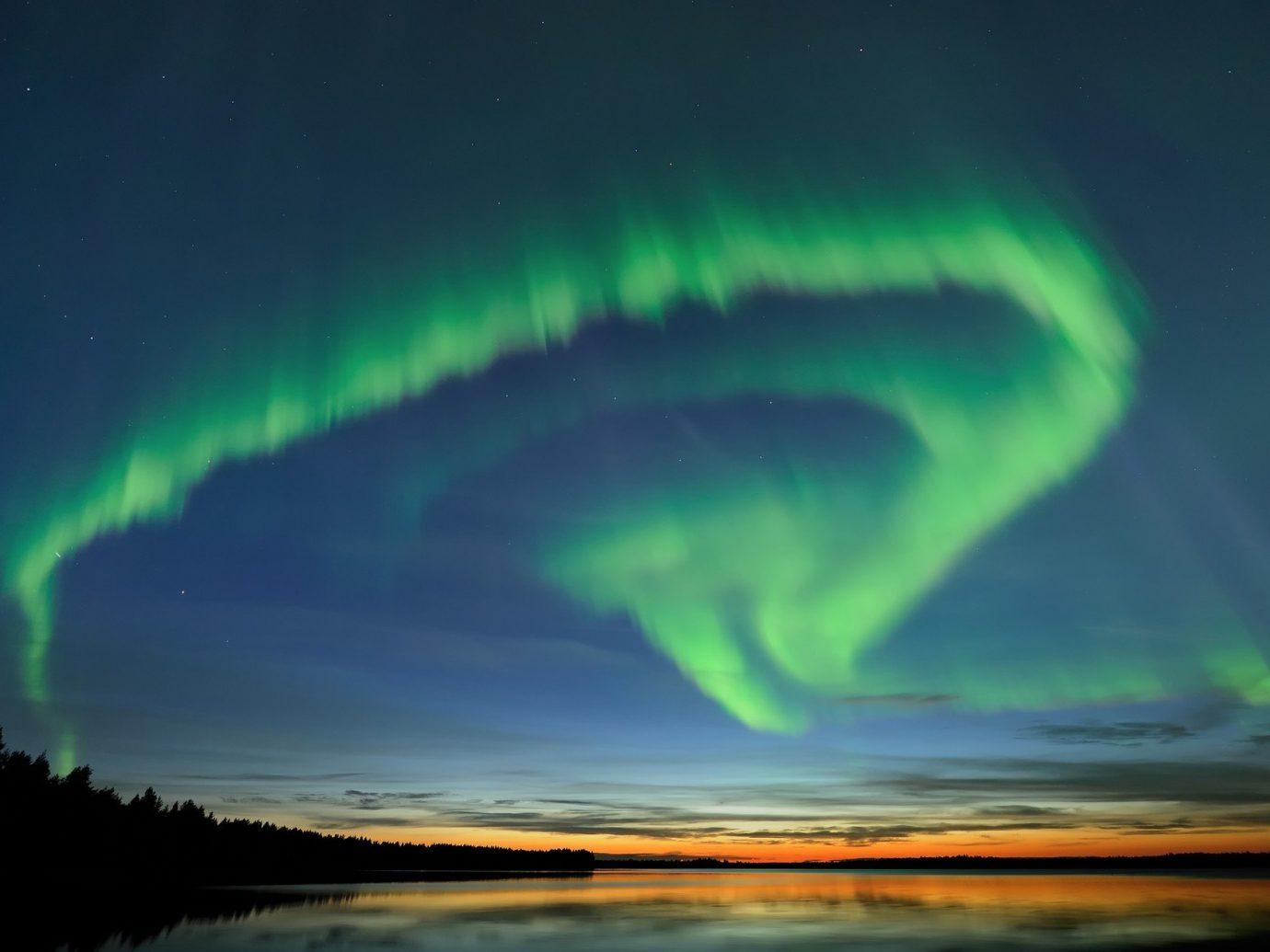 Trip Ideas aurora phenomenon atmosphere Night Sky