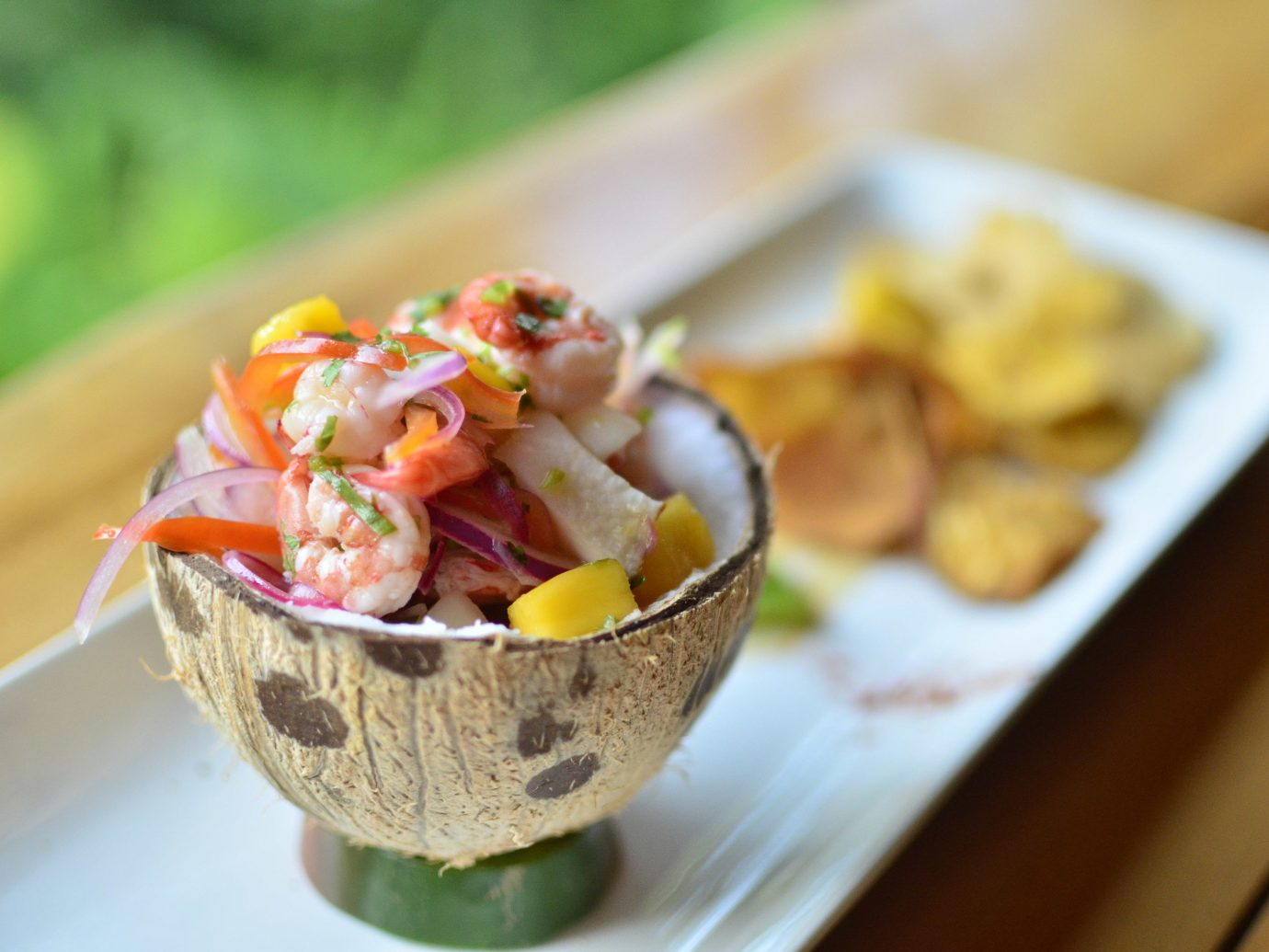 Fresh Ceviche at the Drake Bay Getaway Resort in Costa Rica