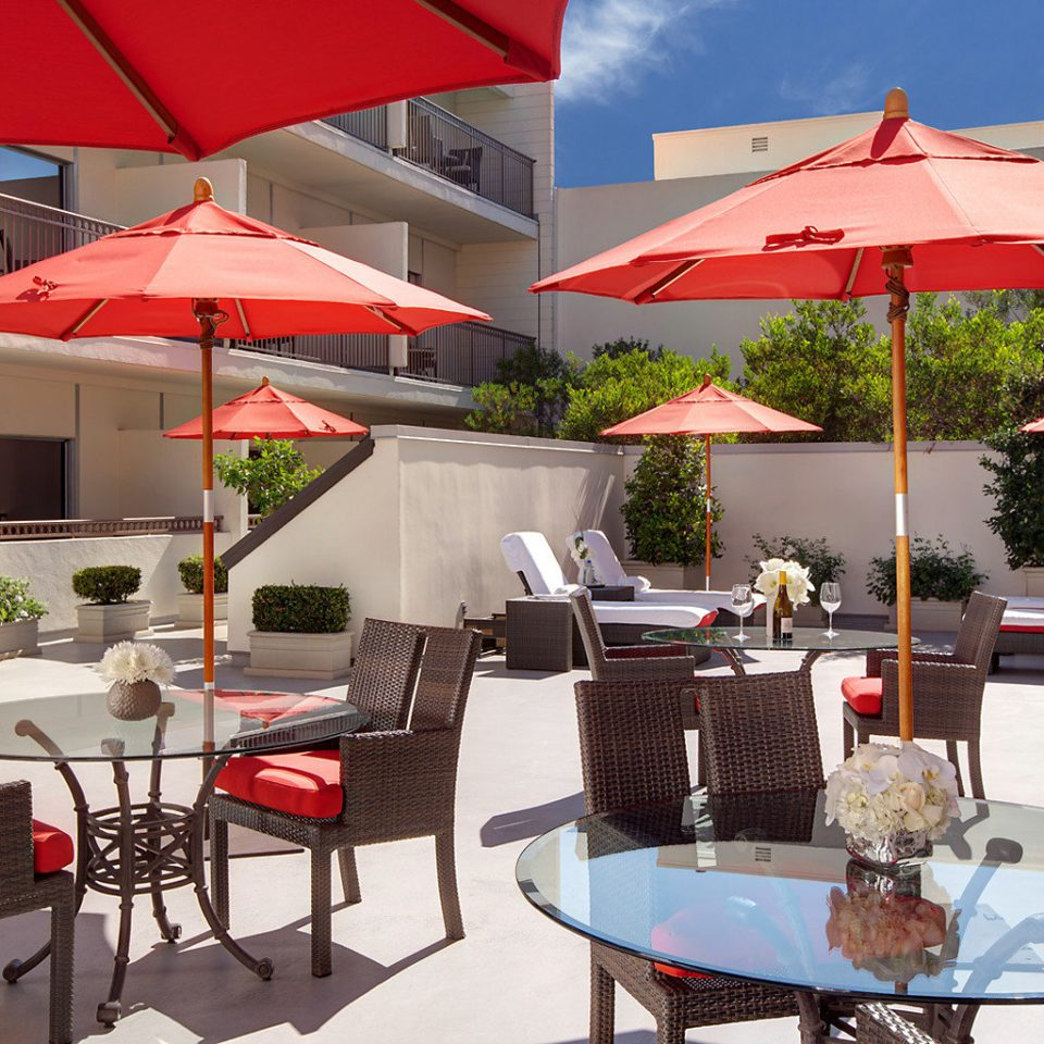 chair umbrella restaurant Resort accessory set