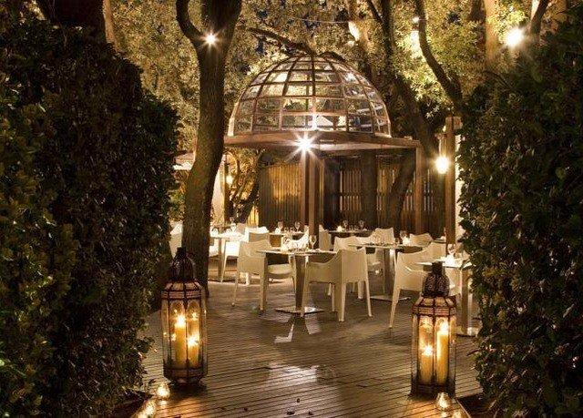 tree aisle restaurant wedding ceremony lighting landscape lighting Resort mansion palace hacienda wedding reception