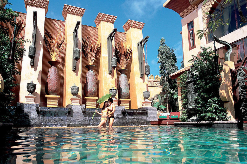 building water leisure Resort water feature amusement park swimming pool world