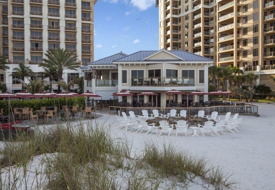 building snow property Resort residential area marina dock condominium home walkway waterway apartment building