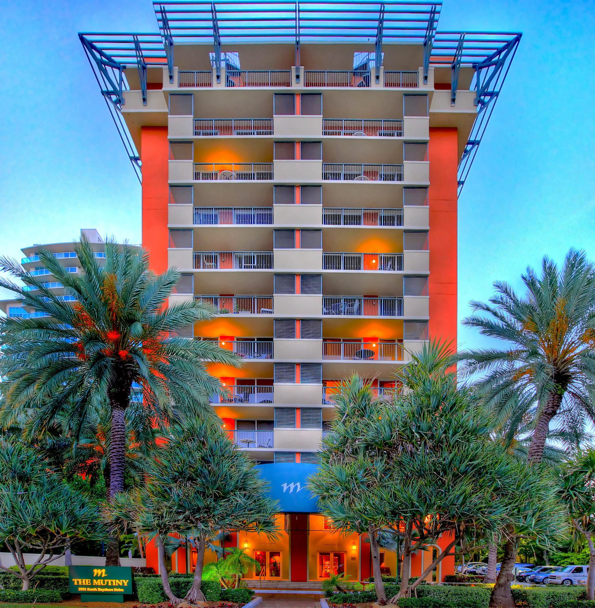 tree sky condominium building property tower block residential area Resort tower apartment building