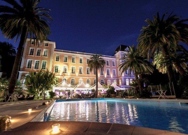 tree palm Resort property swimming pool condominium resort town plaza mansion palace arecales night