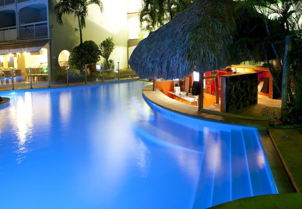 leisure swimming pool Resort blue backyard