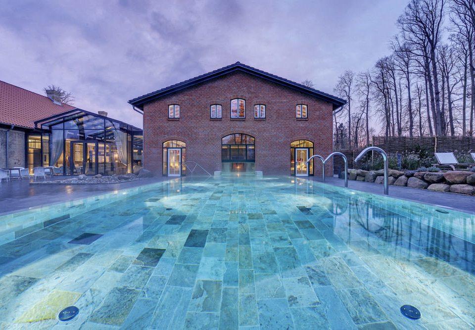 swimming pool property building mansion home Resort backyard