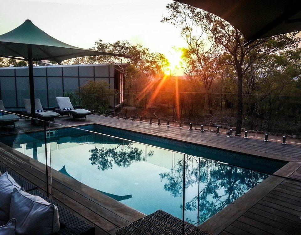 sky swimming pool leisure building backyard reflecting pool sunlight Resort
