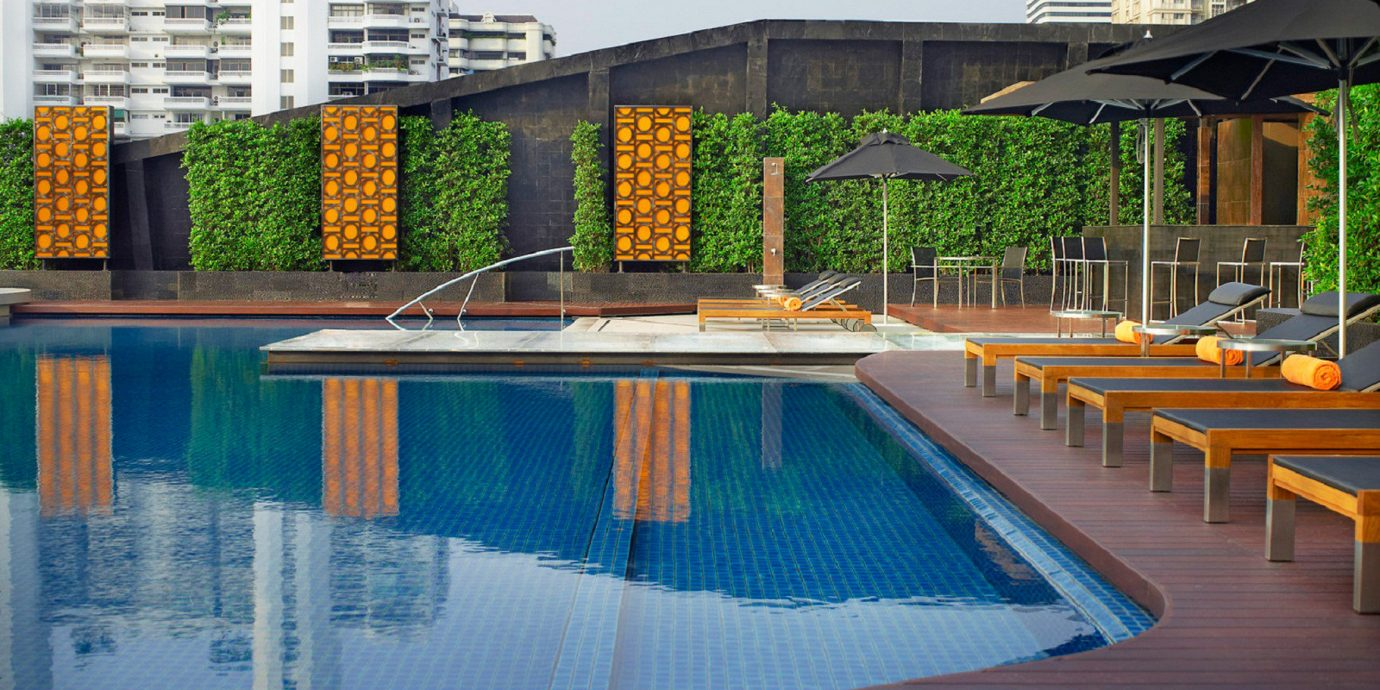 swimming pool leisure condominium Resort backyard