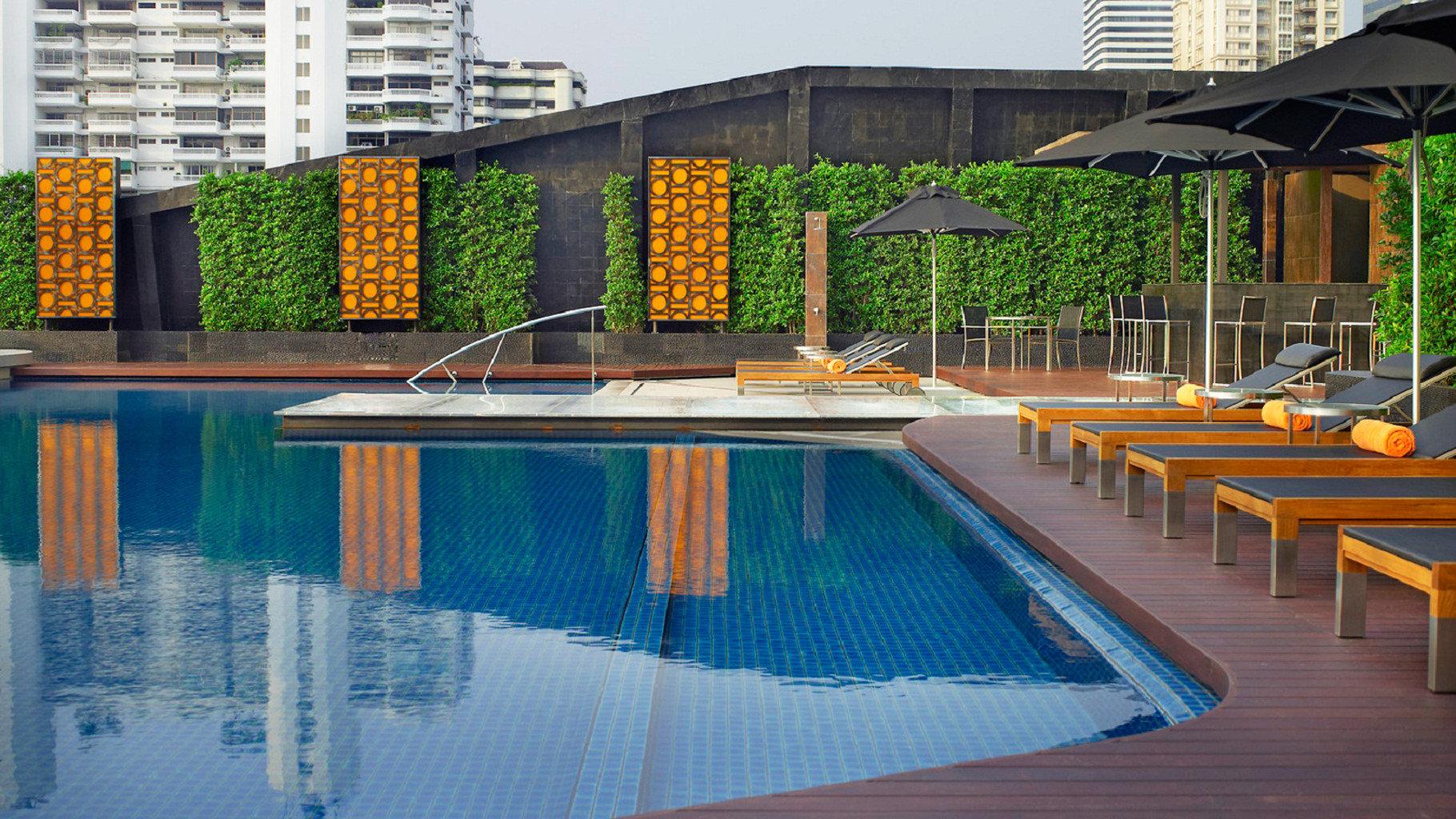 swimming pool leisure condominium Resort backyard