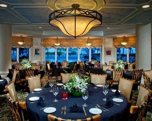 function hall banquet restaurant convention center Resort ballroom dining table