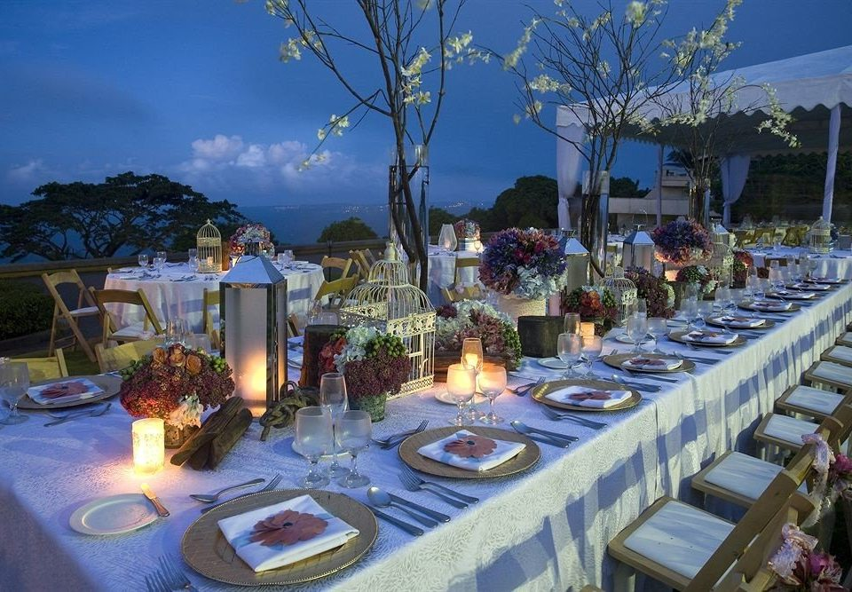 tree banquet wedding ceremony function hall flower wedding reception restaurant set Resort lined