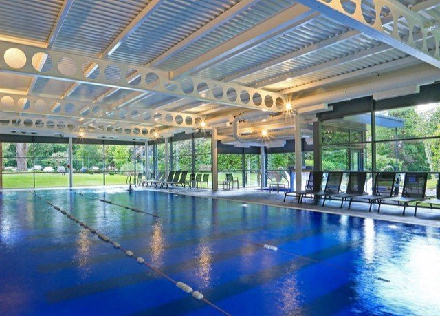 swimming pool leisure building property structure Resort leisure centre sport venue blue colonnade