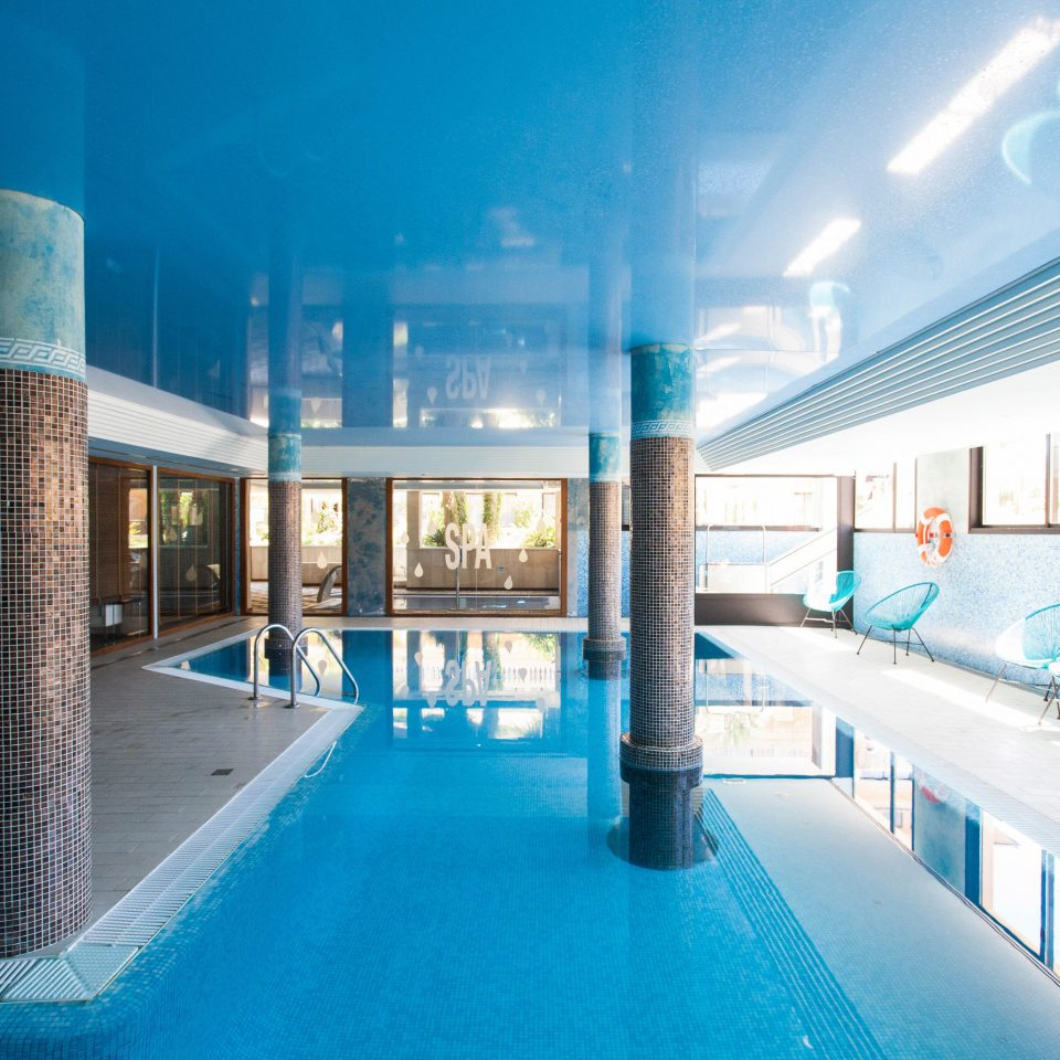 swimming pool leisure property building leisure centre Resort condominium blue