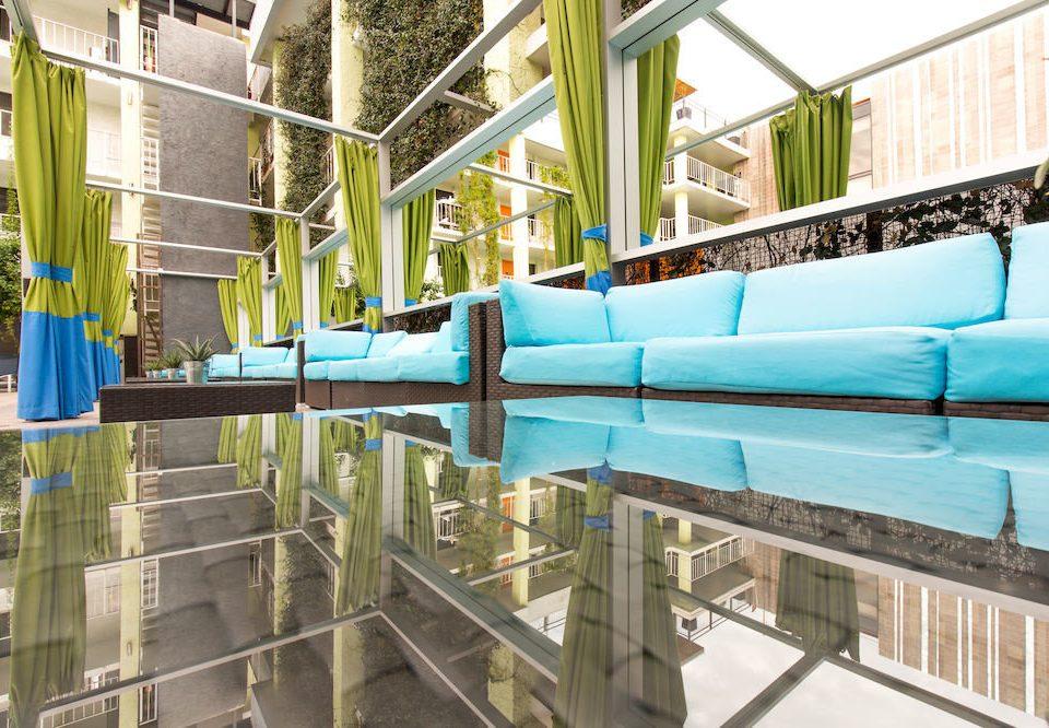 building leisure swimming pool Resort blue